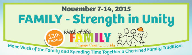 Week of the Family 2015